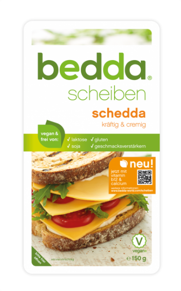 Vegane Scheiben Alternative schedda