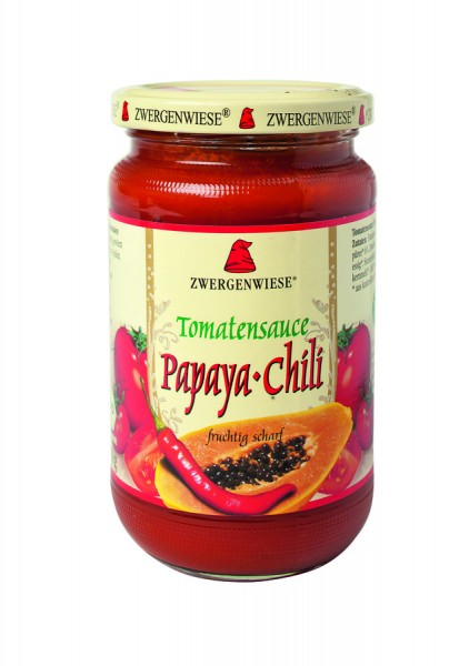 Bio Tomatensauce Papaya-Chili